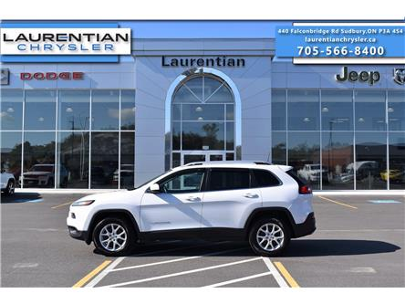 2017 Jeep Cherokee North (Stk: 21235A) in Greater Sudbury - Image 1 of 30