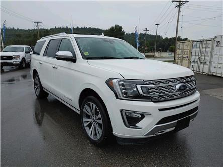 2021 Ford Expedition Max Platinum (Stk: 21T123) in Quesnel - Image 1 of 16