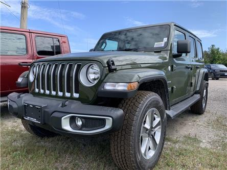 2021 Jeep Wrangler Unlimited Sahara (Stk: 790174) in Orillia - Image 1 of 6