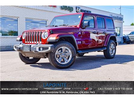 2021 Jeep Wrangler Unlimited Sahara (Stk: 21186) in Pembroke - Image 1 of 30