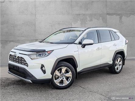 2019 Toyota RAV4 Hybrid Limited (Stk: 21136AL) in Dawson Creek - Image 1 of 25