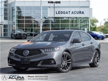 2020 Acura TLX Tech A-Spec (Stk: 4539) in Burlington - Image 1 of 26