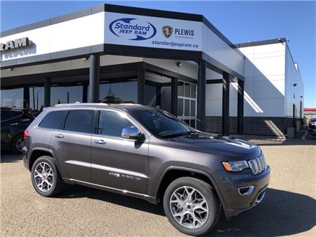 2021 Jeep Grand Cherokee Overland (Stk: 5M211) in Medicine Hat - Image 1 of 18