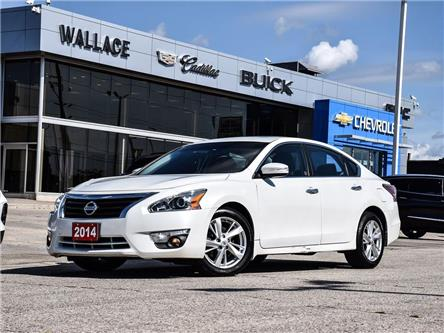 2014 Nissan Altima 4dr Sdn I4 CVT 2.5, SUNROOF, BOSE SPEAKERS, CRUISE (Stk: PR5450A) in Milton - Image 1 of 27