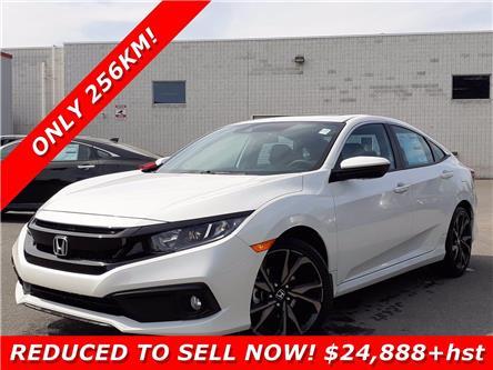 2020 Honda Civic Sport (Stk: 17-20-0571) in Ottawa - Image 1 of 24