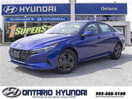 2021 Hyundai Elantra Preferred (Stk: 13-085708) in Whitby - Image 1 of 23