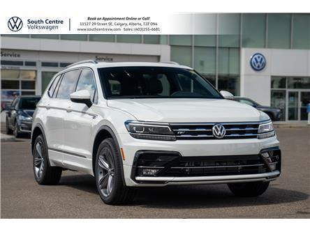 2021 Volkswagen Tiguan Highline (Stk: 10383) in Calgary - Image 1 of 45