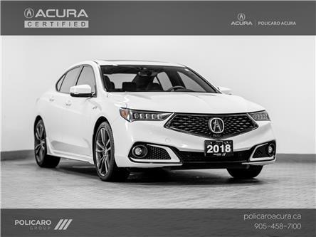 2018 Acura TLX Tech A-Spec (Stk: 800143P) in Brampton - Image 1 of 27