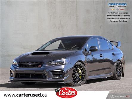 2018 Subaru WRX STI Sport-tech w/Wing (Stk: 18082U) in Calgary - Image 1 of 13