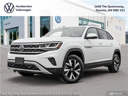 2021 Volkswagen Atlas Cross Sport 3.6 FSI Comfortline (Stk: 98622) in Toronto - Image 1 of 23
