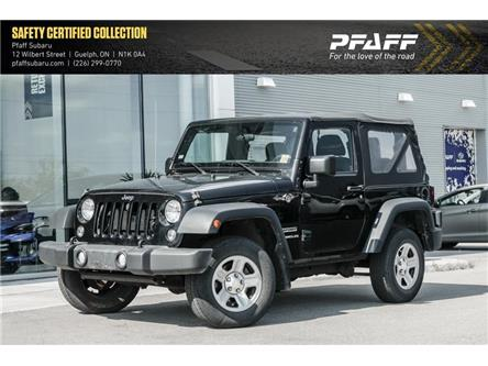 2015 Jeep Wrangler Sport (Stk: S01164A) in Guelph - Image 1 of 10