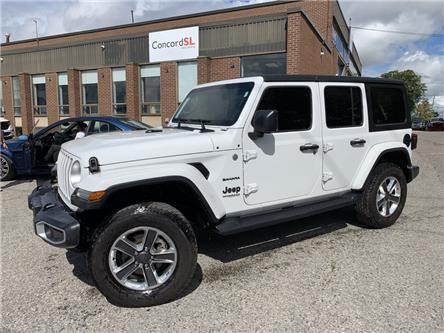 2020 Jeep Wrangler Unlimited Sahara (Stk: C6456) in Concord - Image 1 of 5