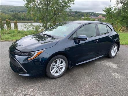2019 Toyota Corolla Hatchback Base (Stk: 19-1371A) in Edmunston - Image 1 of 16