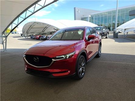 2021 Mazda CX-5 Signature (Stk: N6491) in Calgary - Image 1 of 4