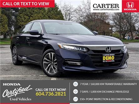 2020 Honda Accord Hybrid Touring (Stk: 9M03611) in Vancouver - Image 1 of 19