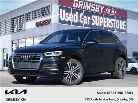 2018 Audi Q5 Technik   Panoroof   Leather   AWD   Loaded! (Stk: N4422A) in Grimsby - Image 1 of 32