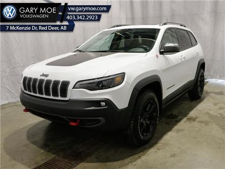 2019 Jeep Cherokee Trailhawk Elite (Stk: 1TG3171A) in Red Deer County - Image 1 of 26