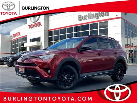 2018 Toyota RAV4 XLE (Stk: U11787) in Burlington - Image 1 of 22