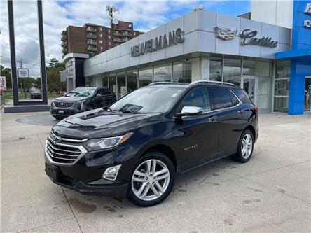 2019 Chevrolet Equinox Premier (Stk: 21121A) in Chatham - Image 1 of 22