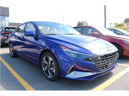 2021 Hyundai Elantra Ultimate (Stk: 12019) in Saint John - Image 1 of 5