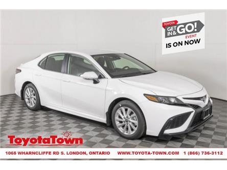 2021 Toyota Camry SE (Stk: F1114) in London - Image 1 of 25