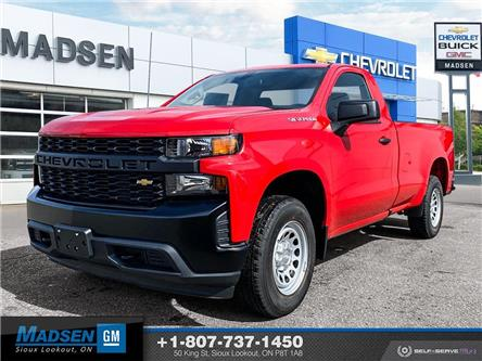 2021 Chevrolet Silverado 1500 Work Truck (Stk: 21280) in Sioux Lookout - Image 1 of 22