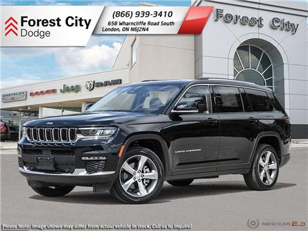 2021 Jeep Grand Cherokee L Limited (Stk: 21-7L004) in London - Image 1 of 23