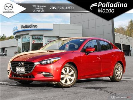 2018 Mazda Mazda3 GX (Stk: 8114A) in Greater Sudbury - Image 1 of 24