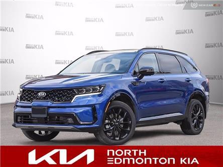 2021 Kia Sorento 2.5T SX w/Black Leather (Stk: 21SN0513) in Edmonton - Image 1 of 23