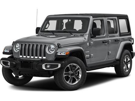 2021 Jeep Wrangler Unlimited Sahara (Stk: ) in Sudbury - Image 1 of 2