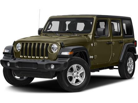 2021 Jeep Wrangler Unlimited Sport (Stk: ) in Sudbury - Image 1 of 2