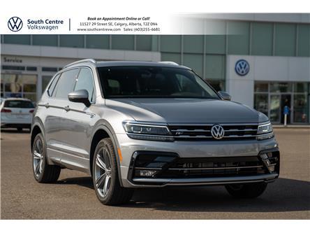 2021 Volkswagen Tiguan Highline (Stk: 10378) in Calgary - Image 1 of 45