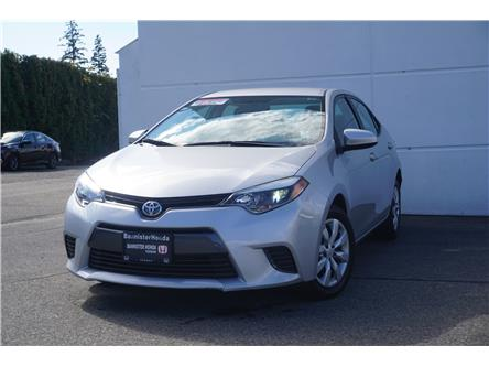 2016 Toyota Corolla  (Stk: P21-201) in Vernon - Image 1 of 15