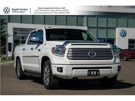 2017 Toyota Tundra Platinum 5.7L V8 (Stk: U6787) in Calgary - Image 1 of 40