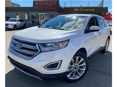 2018 Ford Edge Titanium (Stk: P38552) in Saskatoon - Image 1 of 22