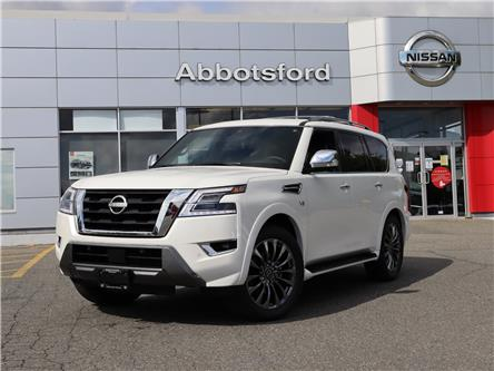 2021 Nissan Armada Platinum (Stk: A21292) in Abbotsford - Image 1 of 30