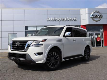 2021 Nissan Armada Platinum (Stk: A21156) in Abbotsford - Image 1 of 30