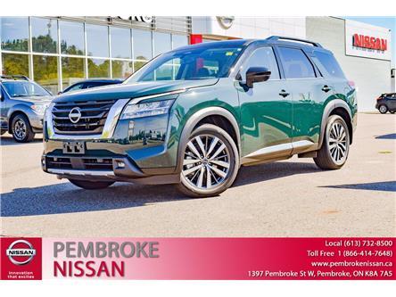 2022 Nissan Pathfinder Platinum (Stk: 22004) in Pembroke - Image 1 of 30