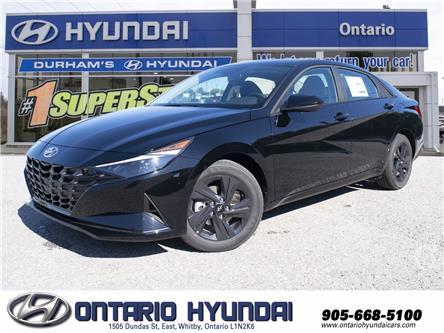 2022 Hyundai Elantra Preferred w/Sun & Tech Pkg (Stk: 225986) in Whitby - Image 1 of 24