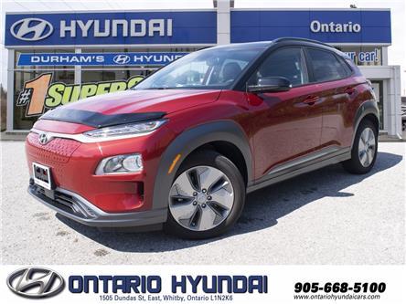 2021 Hyundai Kona EV Preferred w/Two Tone (Stk: 13-112998) in Whitby - Image 1 of 24