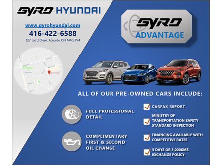 2020 Hyundai Elantra Luxury (Stk: H6940A) in Toronto - Image 1 of 2