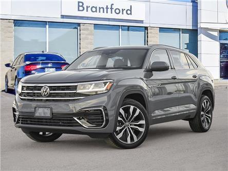 2021 Volkswagen Atlas Cross Sport 3.6 FSI Execline (Stk: AS21435) in Brantford - Image 1 of 11