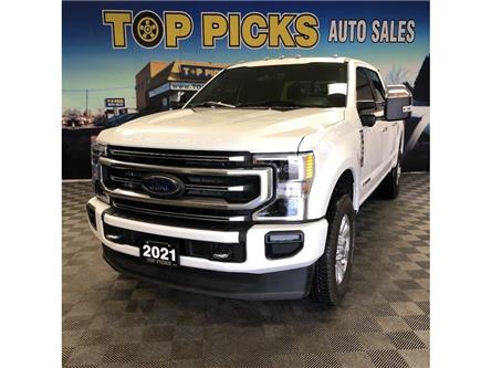 2021 Ford F-350 Platinum (Stk: D34436) in NORTH BAY - Image 1 of 29