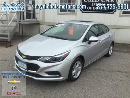 2018 Chevrolet Cruze LT Auto (Stk: P6804) in Courtice - Image 1 of 14