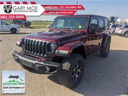 2021 Jeep Wrangler Unlimited Rubicon (Stk: F212690) in Lacombe - Image 1 of 14