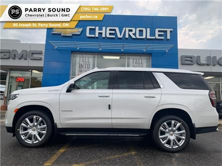 2021 Chevrolet Tahoe High Country (Stk: 21-254) in Parry Sound - Image 1 of 23