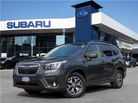 2021 Subaru Forester 2.5i Convenience CVT >>No accident<< (Stk: 21D08) in Toronto - Image 1 of 28
