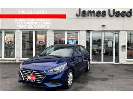 2019 Hyundai Accent Preferred (Stk: N21459A) in Timmins - Image 1 of 11
