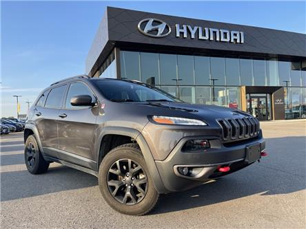 2016 Jeep Cherokee Trailhawk (Stk: H3076A) in Saskatoon - Image 1 of 22
