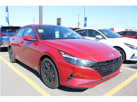 2021 Hyundai Elantra Preferred w/Sun & Tech Pkg (Stk: 12762) in Saint John - Image 1 of 5
